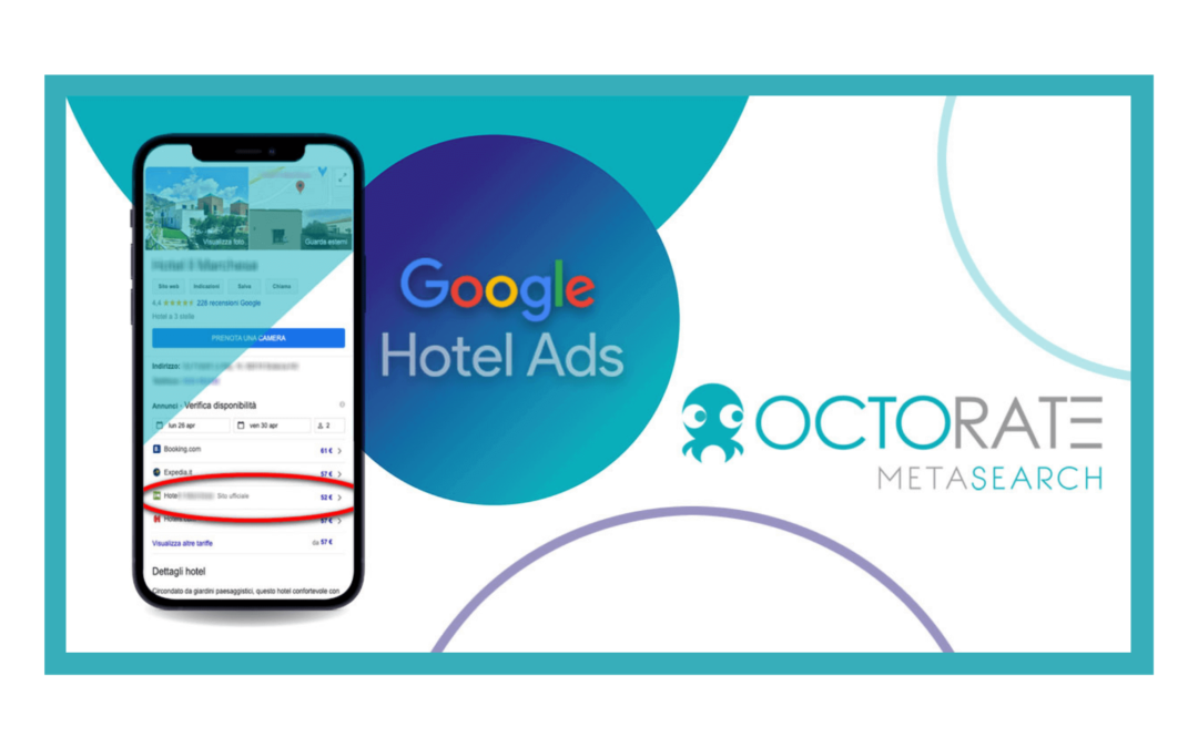 Free Links from Google to your Booking Engine with Octorate Metasearch
